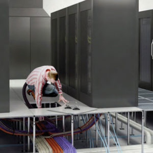 Data Center Floor Cleaning