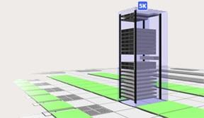 3D Data Center Visualization